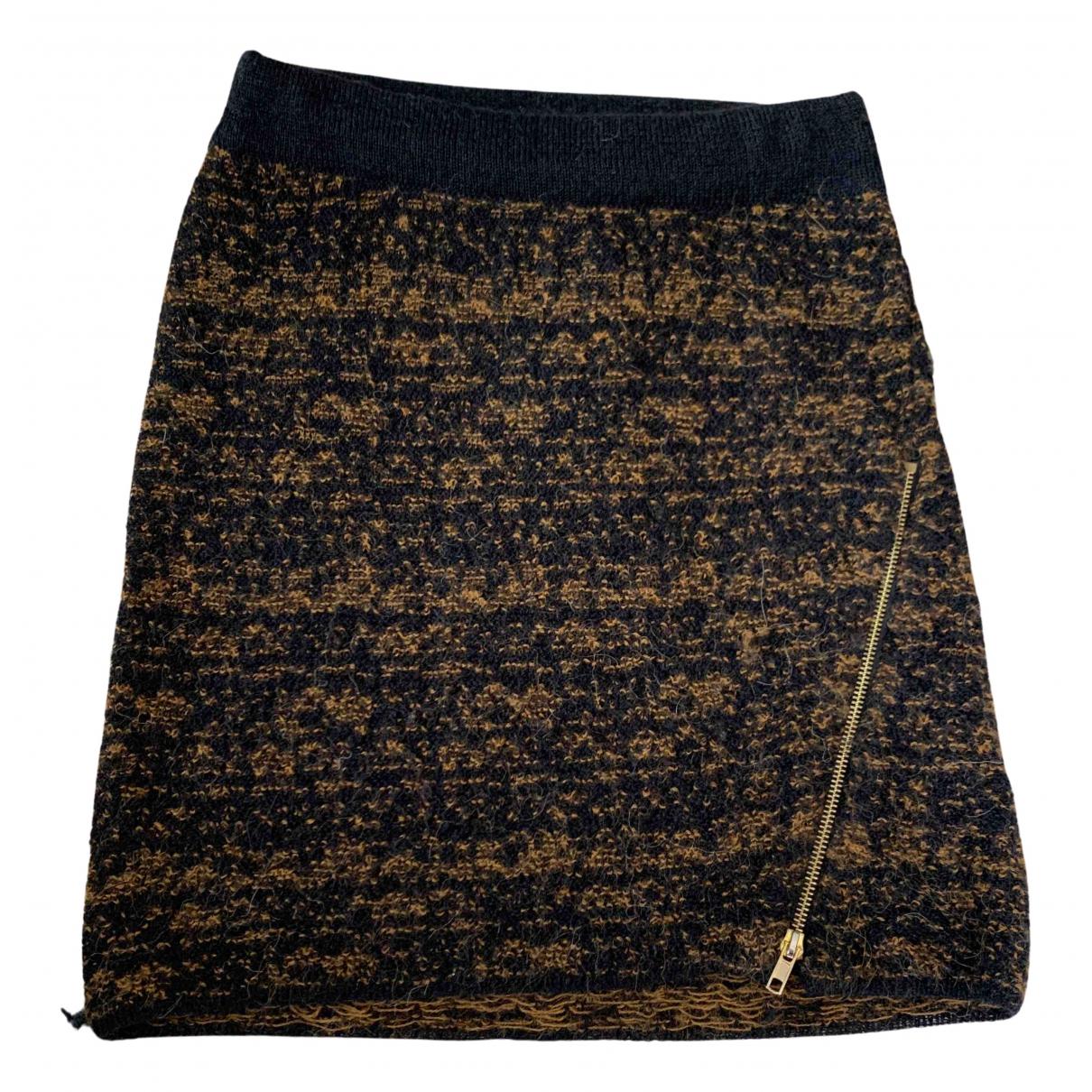 Mini falda de Lana American Vintage