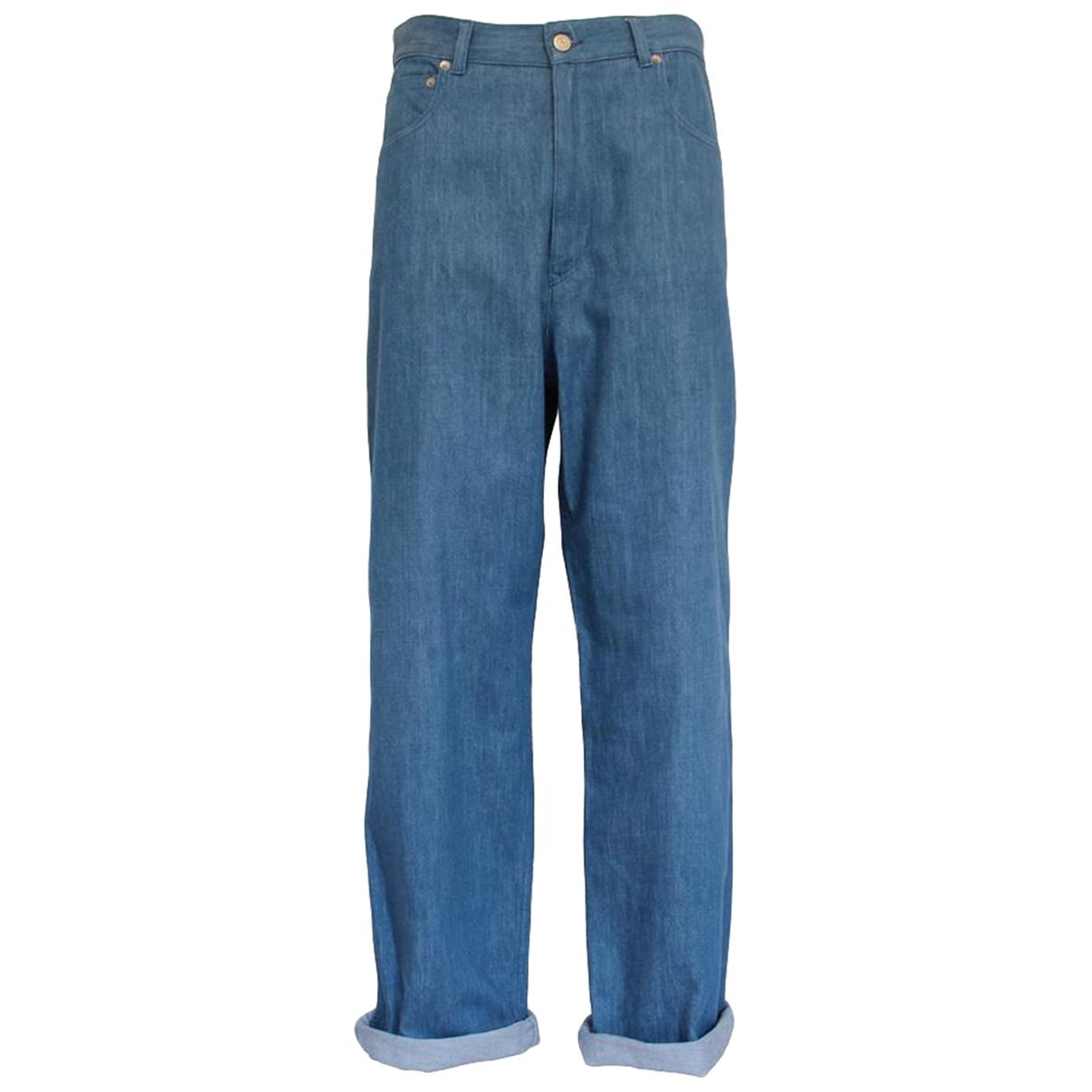 Golden Goose \N Hose in  Blau Denim - Jeans