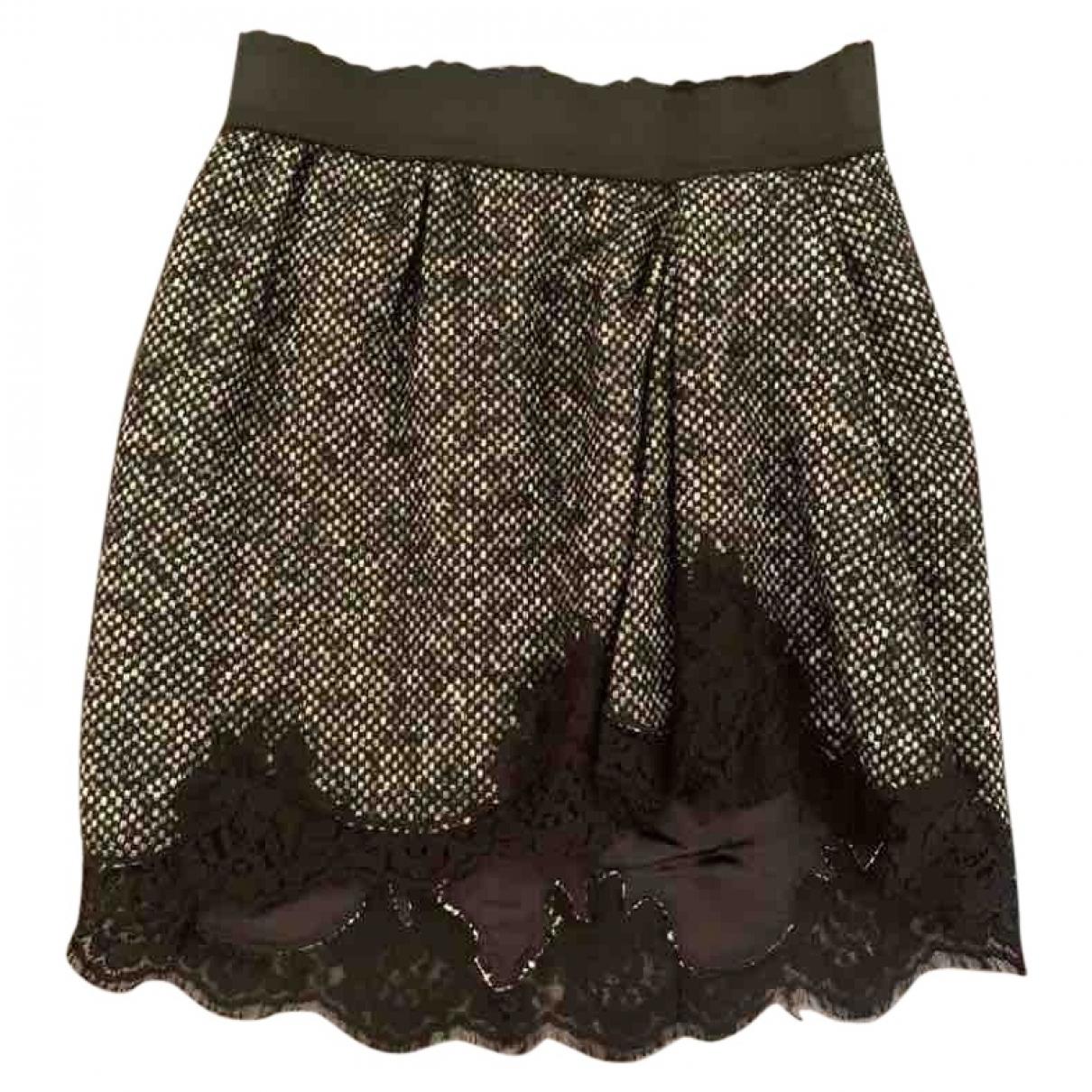 Dolce & Gabbana \N Grey Wool skirt for Women 38 IT