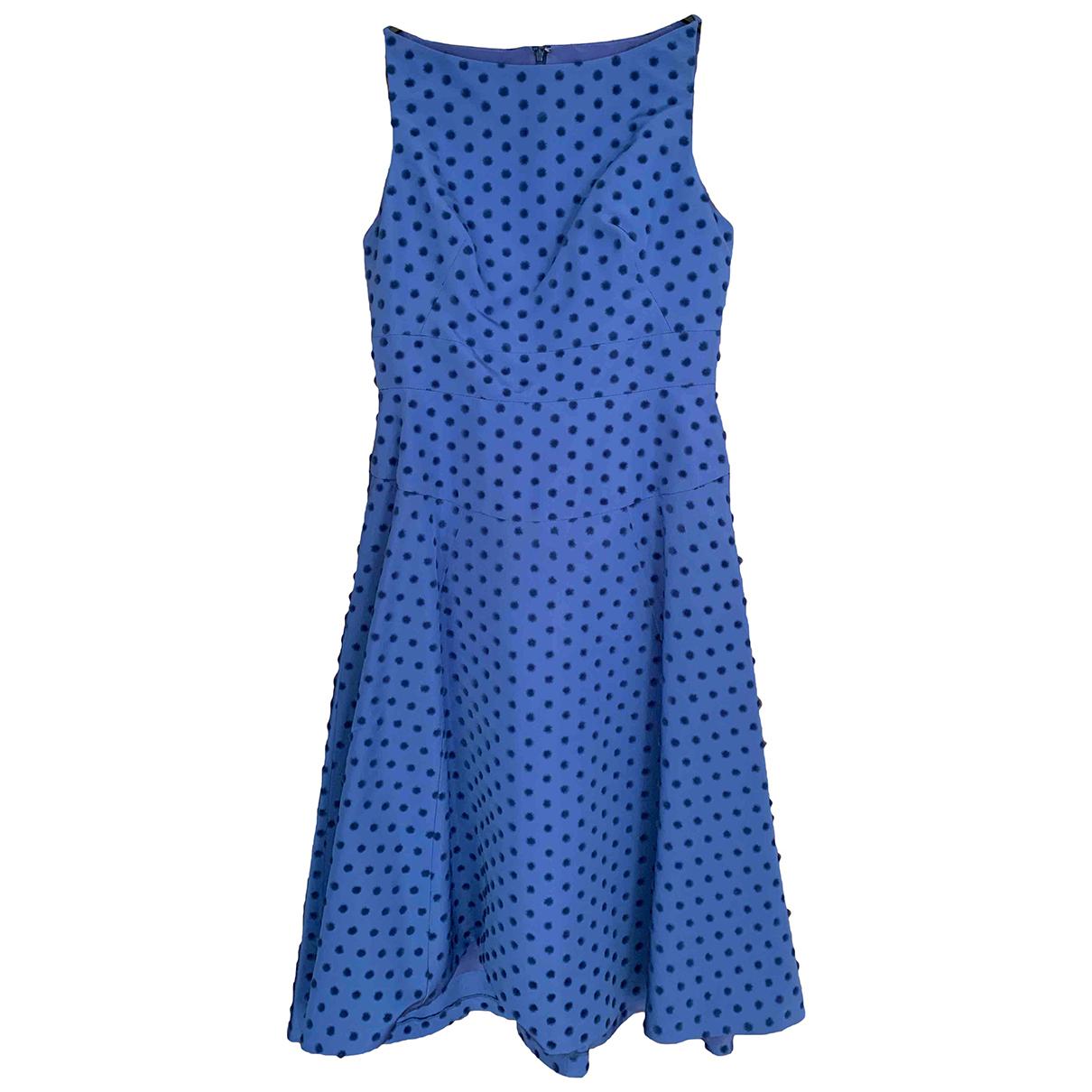 Lola Rose \N Kleid in  Blau Seide