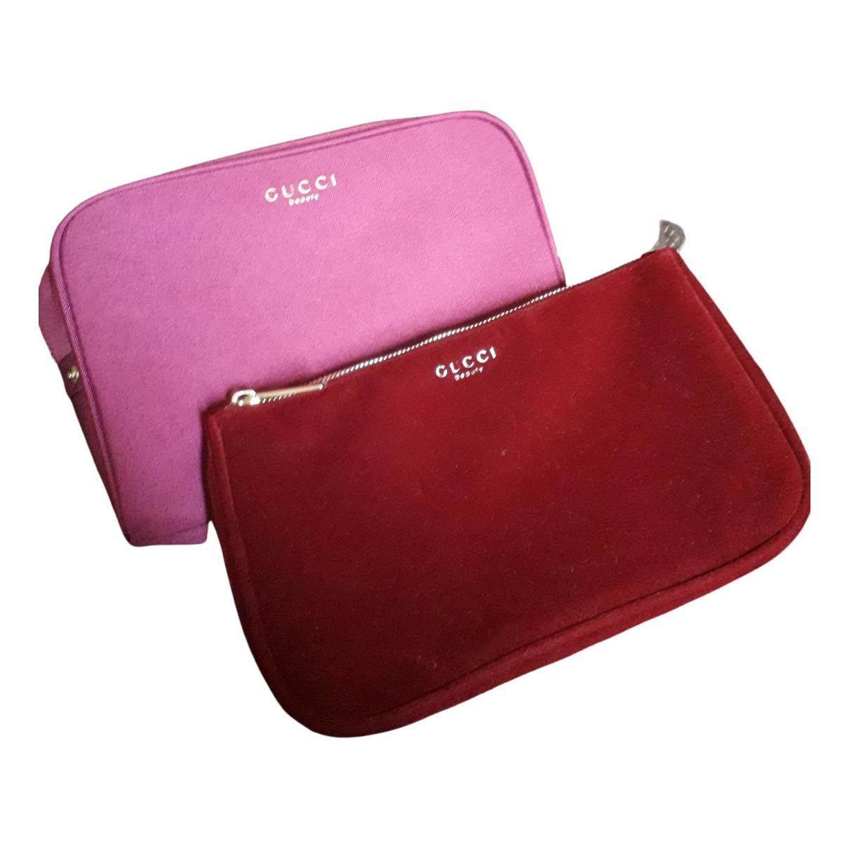 Gucci - Sac de voyage   pour femme en coton - violet