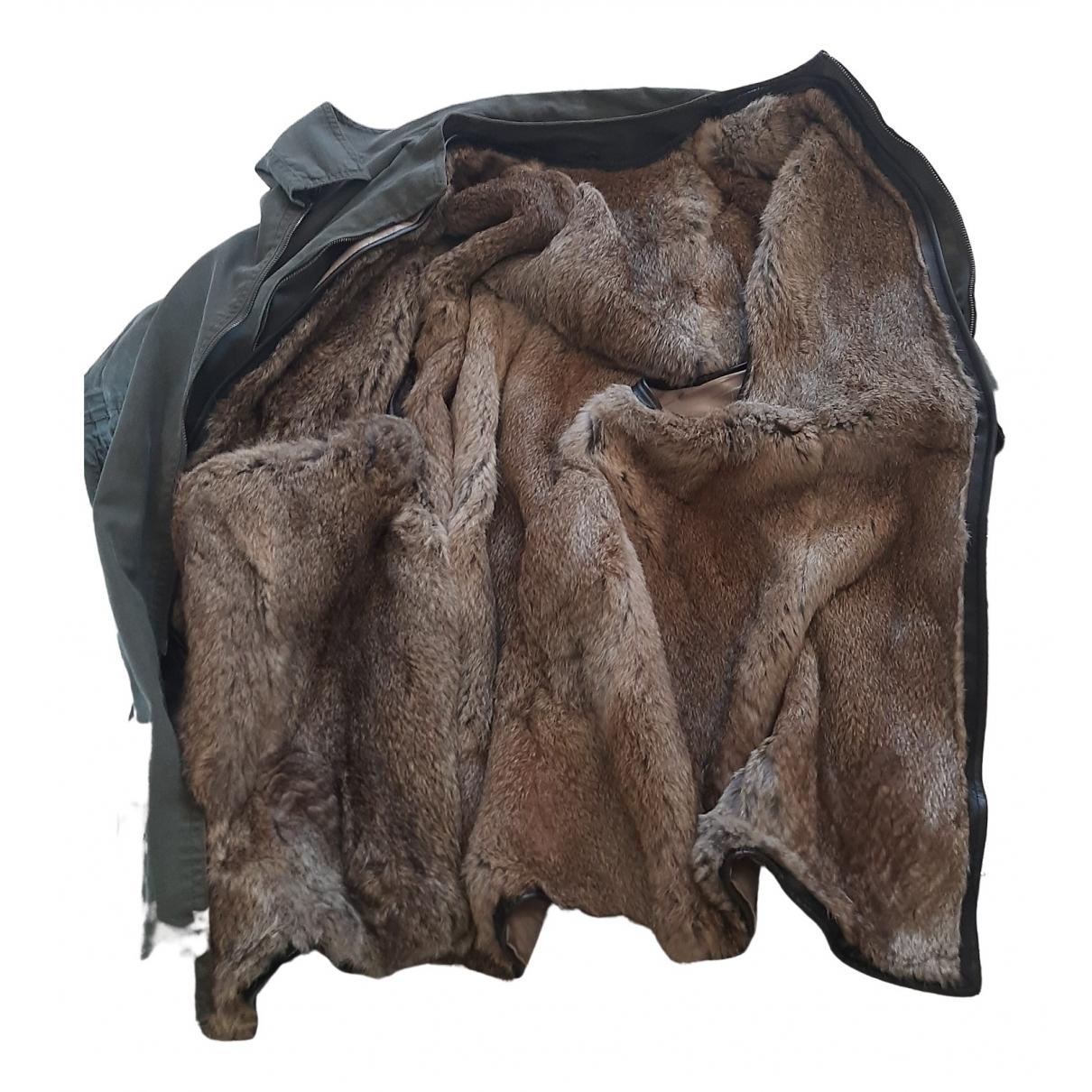 3.1 Phillip Lim \N Green Rabbit coat for Women 4 0-5