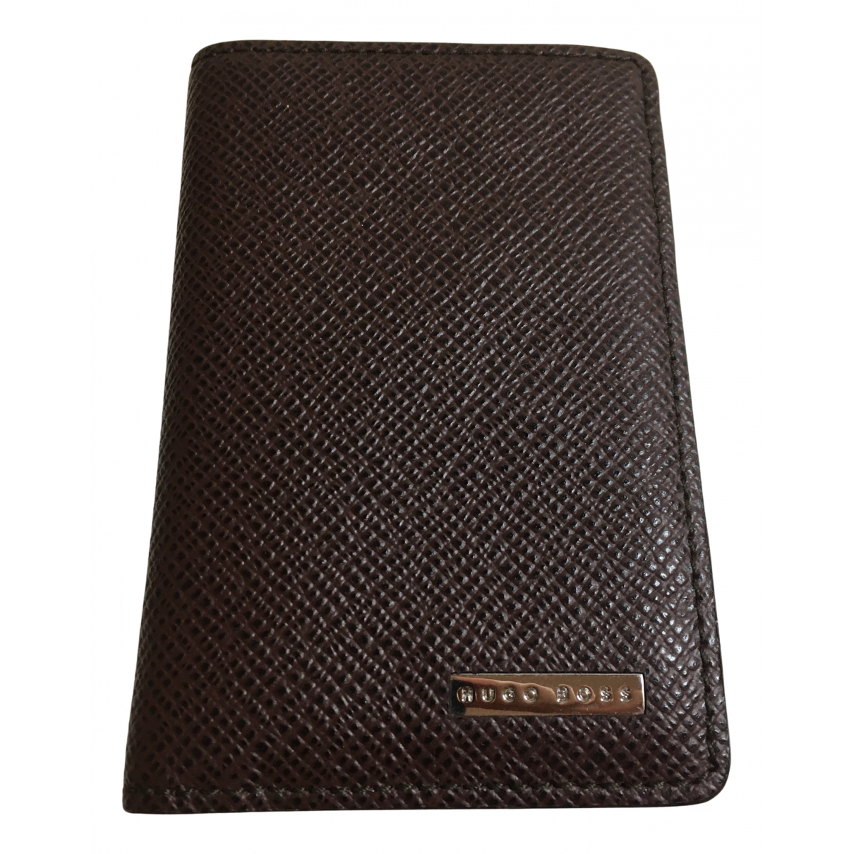 Hugo Boss N Burgundy Leather Small bag, wallet & cases for Men N