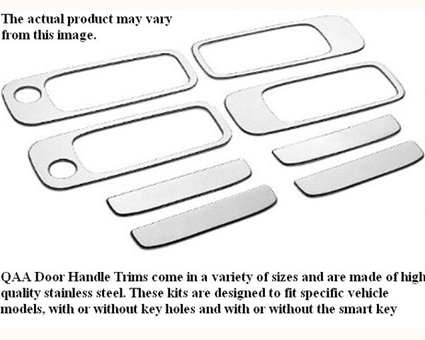 Quality Automotive Accessories Stainless Steel Door Handle Trim BMW 318ti 1997