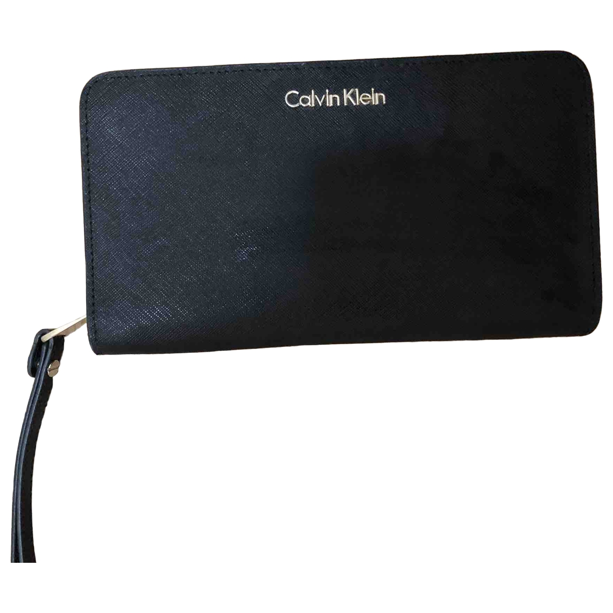 Calvin Klein \N Black Leather wallet for Women \N
