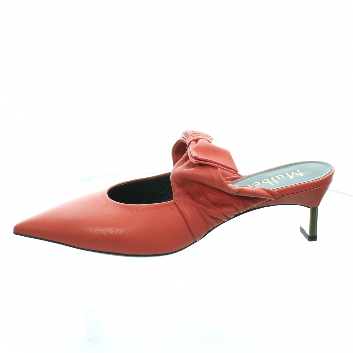 Mulberry \N Pink Leather Mules & Clogs for Women 39 IT