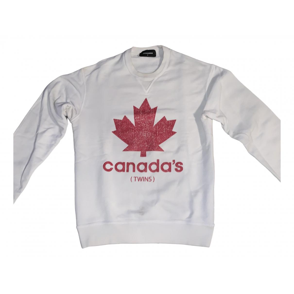 Dsquared2 \N White Cotton Knitwear & Sweatshirts for Men M International