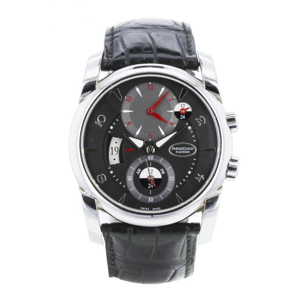 Parmigiani Fleurier \N Khaki Steel watch for Men \N