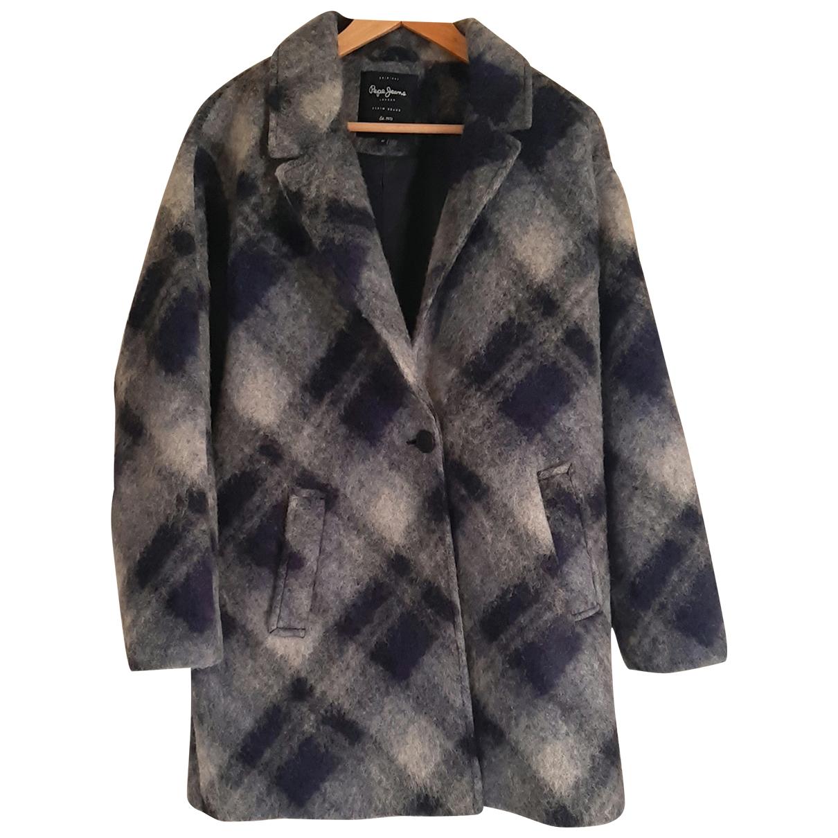 Patrizia Pepe \N Grey Wool coat for Women 44 IT