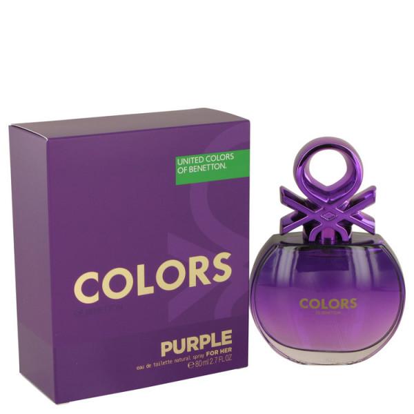 United Colors Of Benetton Purple - Benetton Eau de Toilette Spray 80 ml