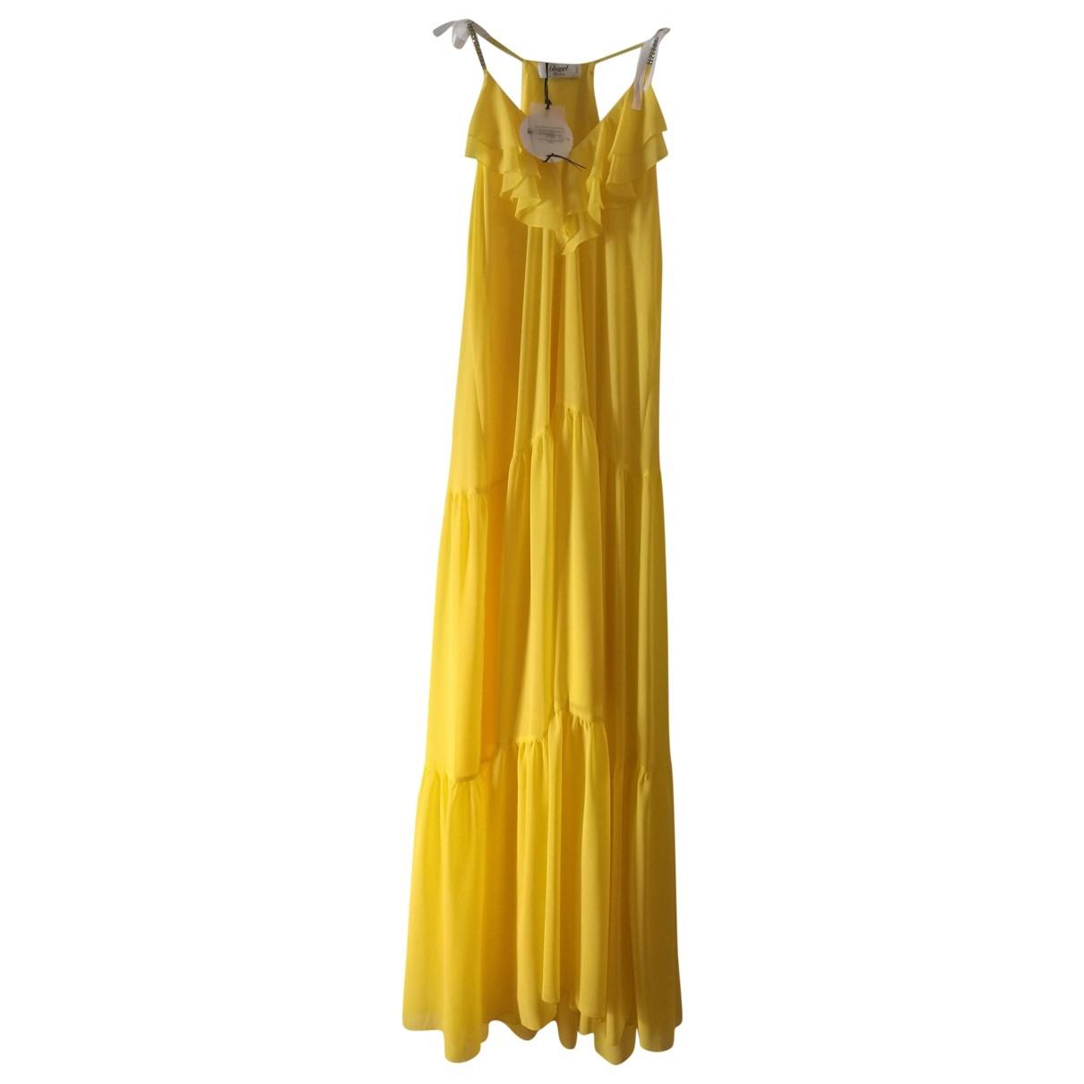 Blumarine \N Yellow dress for Women 42 IT