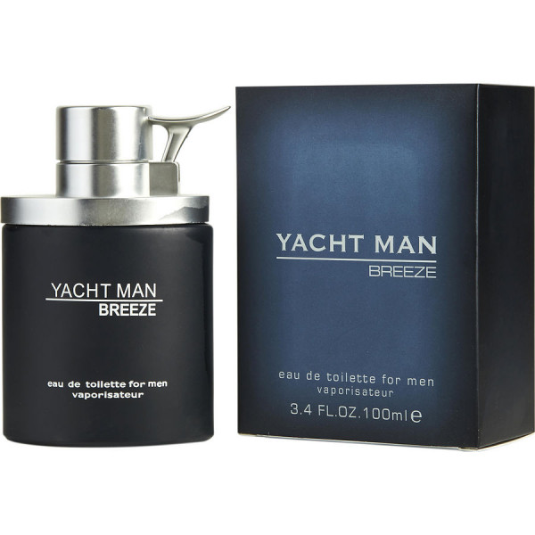 Myrurgia - Yacht Man Breeze : Eau de Toilette Spray 3.4 Oz / 100 ml