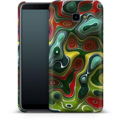 Samsung Galaxy J4 Plus Smartphone Huelle - Weird Green von Danny Ivan
