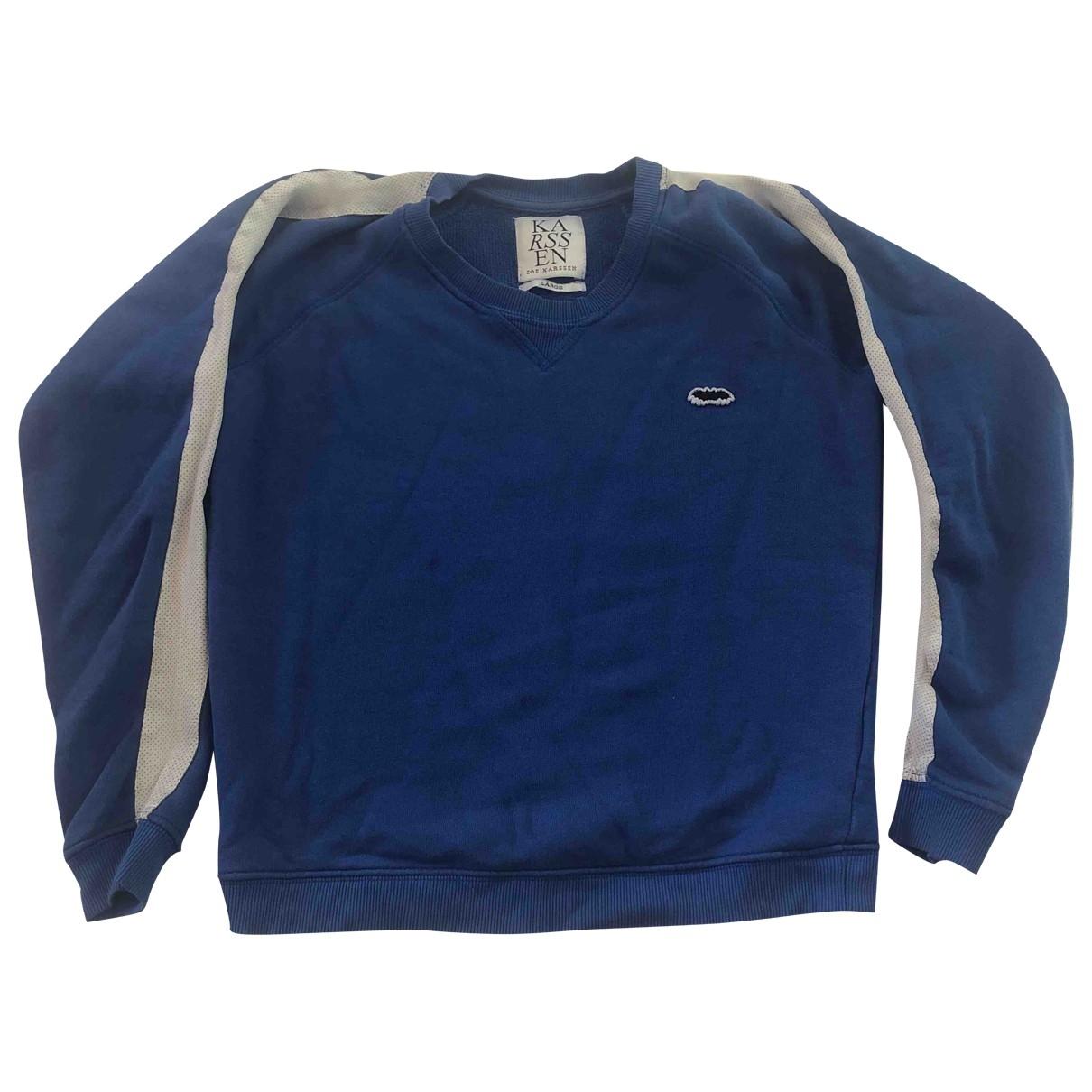 Zoe Karssen - Pull   pour femme en coton - bleu