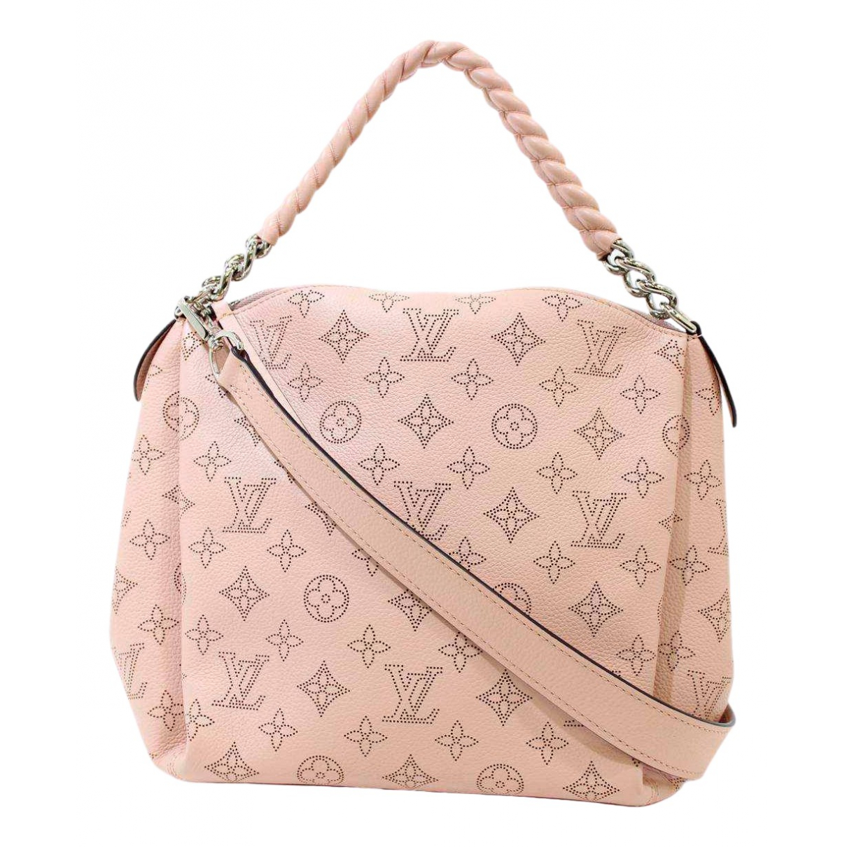 Louis Vuitton Mahina Pink Leather handbag for Women \N