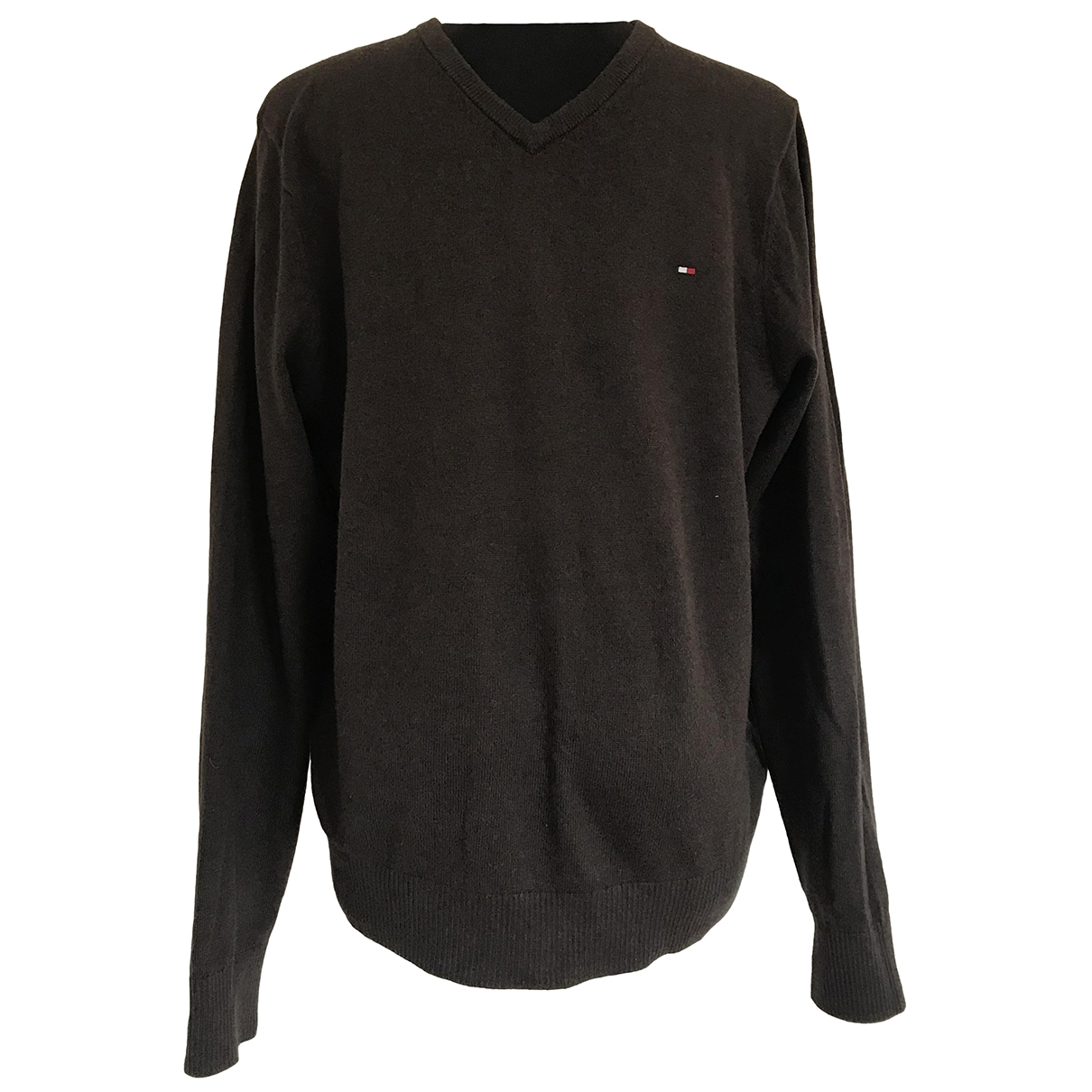 Tommy Hilfiger \N Pullover.Westen.Sweatshirts  in  Braun Kaschmir