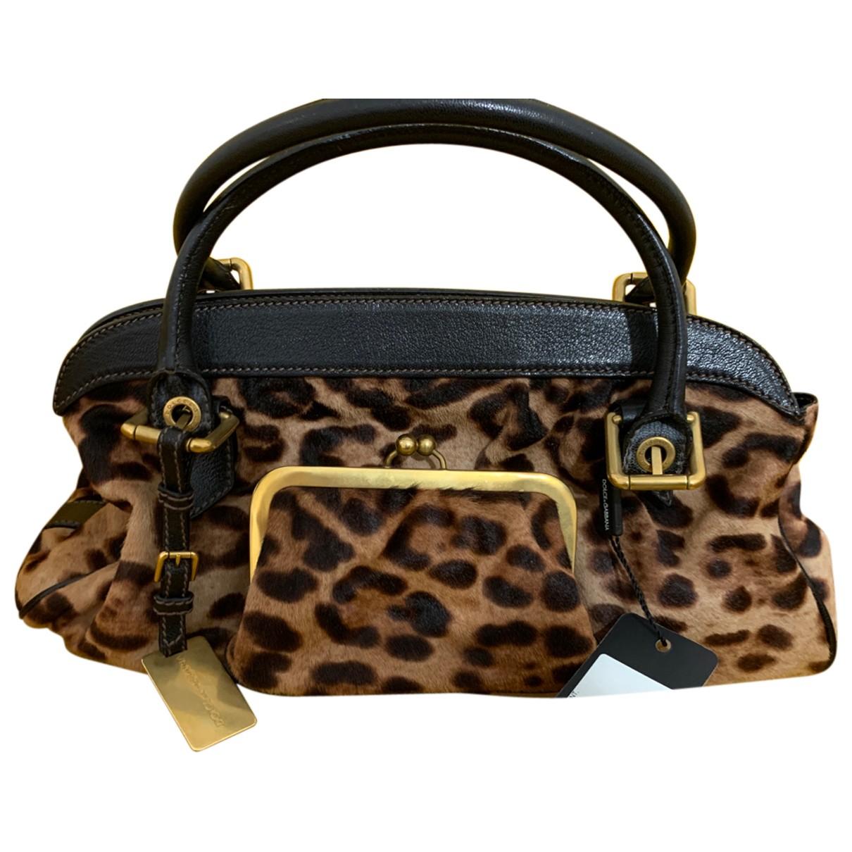 Dolce & Gabbana \N Handtasche in Kalbsleder in Pony-Optik