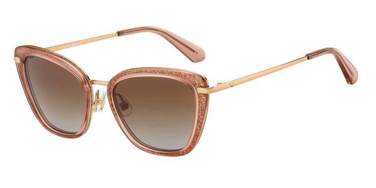 Kate Spade THELMA/G/S 35J/LA Women's Sunglasses Pink Size 53