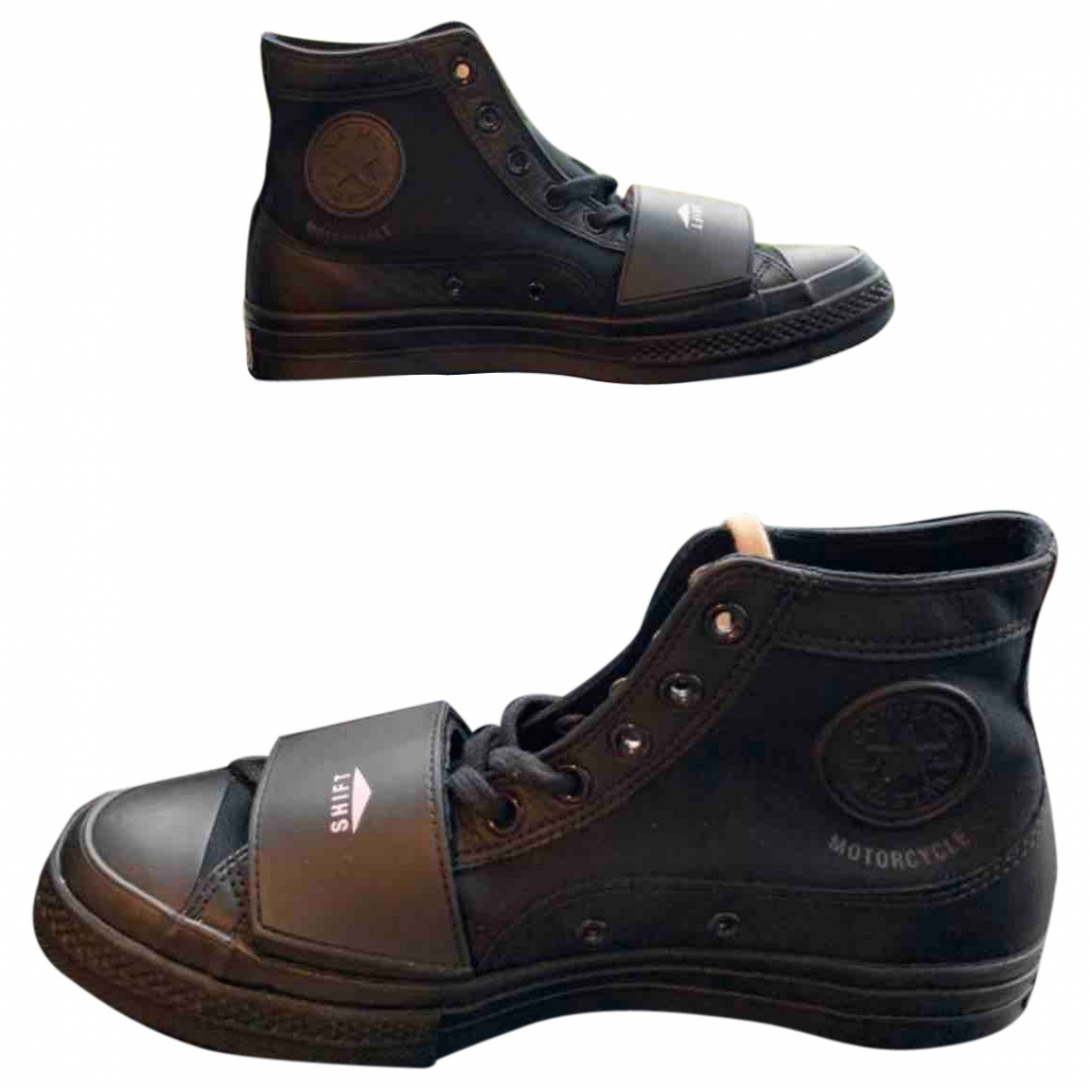 Converse \N Black Cloth Trainers for Men 9.5 UK