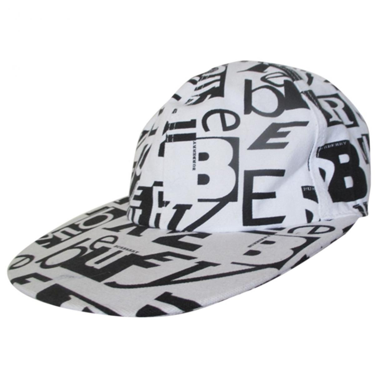 Burberry \N White Cotton hat for Women M International