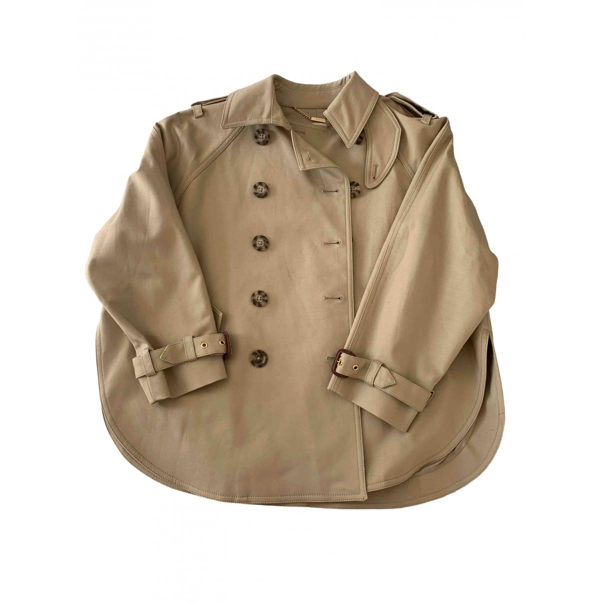 Michael Kors - Trench   pour femme en coton - beige
