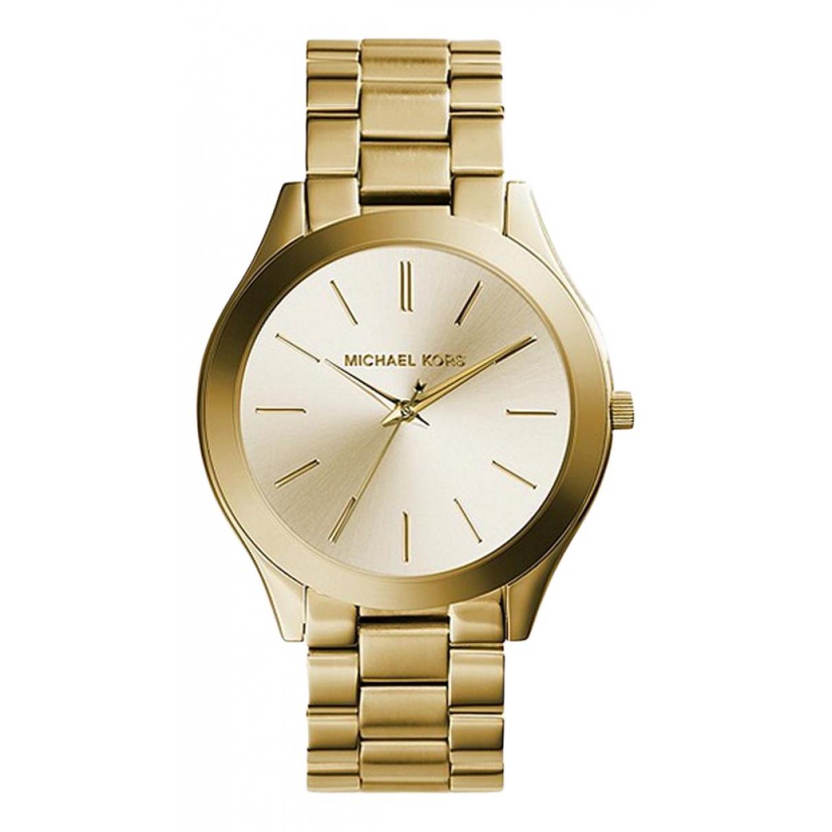 Michael Kors \N Uhr in  Gold Gelbgold