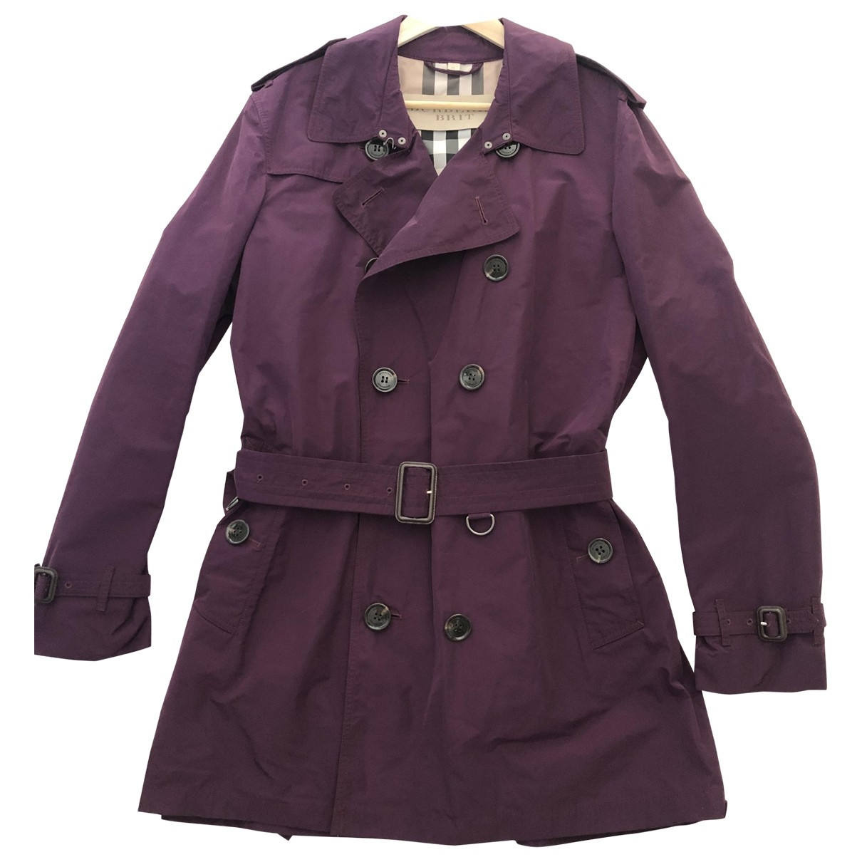 Burberry \N Purple coat  for Men XL International