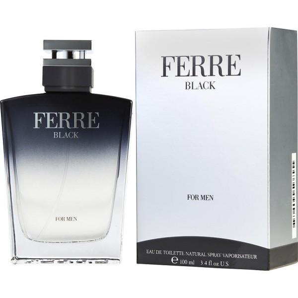Ferre Black - Gianfranco Ferre Eau de toilette en espray 100 ML