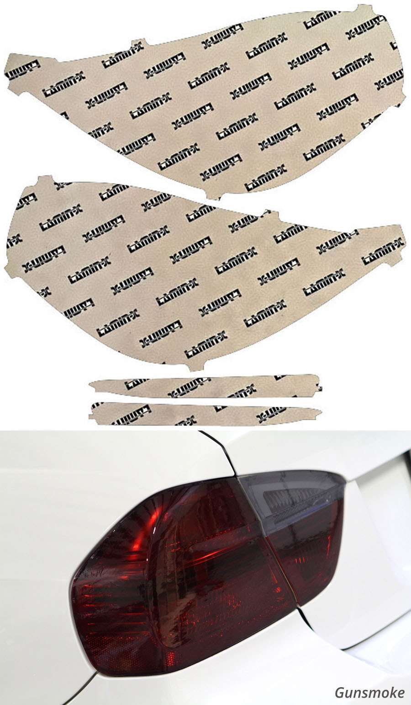 Lincoln MKS 13-16 Gunsmoke Tail Light Covers Lamin-X LN211G