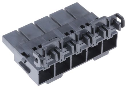 Molex , Mini-Fit Sr Female Connector Housing, 10mm Pitch, 5 Way, 1 Row