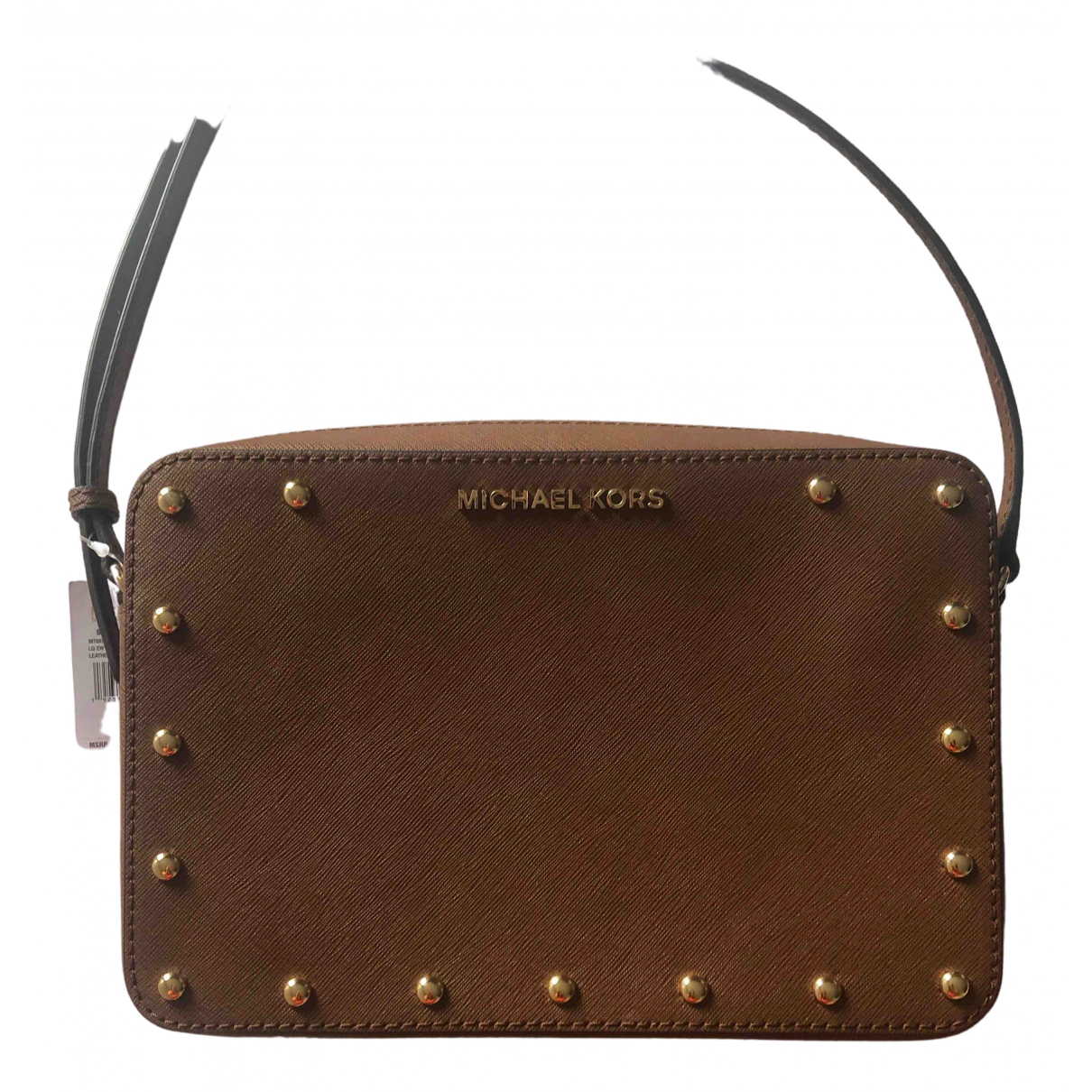 Michael Kors N Brown Leather backpack for Women N