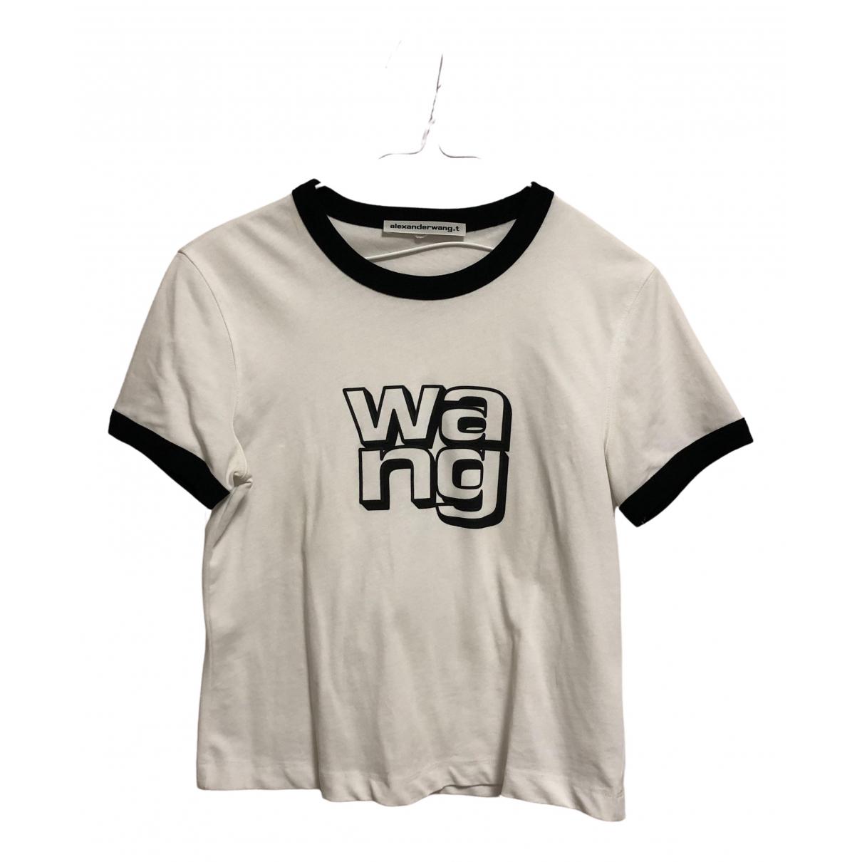 Alexander Wang - Top   pour femme en coton - blanc