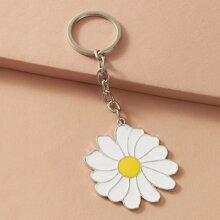 Daisy Charm Keychain