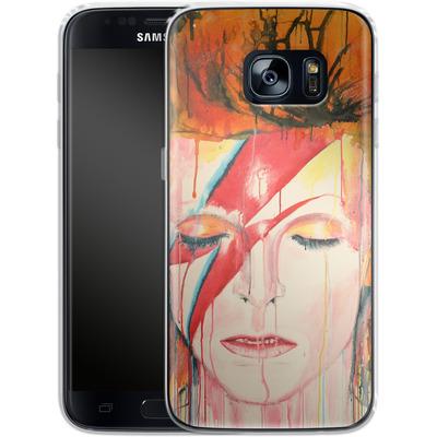 Samsung Galaxy S7 Silikon Handyhuelle - Ziggy von Federica Masini