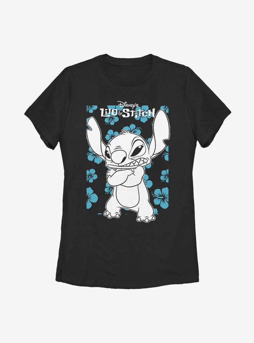 Disney Lilo And Stitch Lilo Party Womens T-Shirt