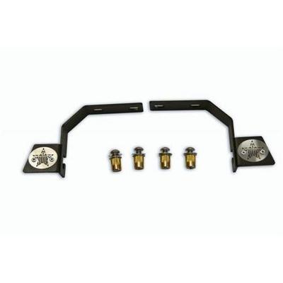 Rock-Slide Engineering LED Light Bracket (Black ) - AC-LED-20