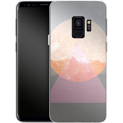 Samsung Galaxy S9 Silikon Handyhuelle - Landscape Abstract 3 von Mareike Bohmer