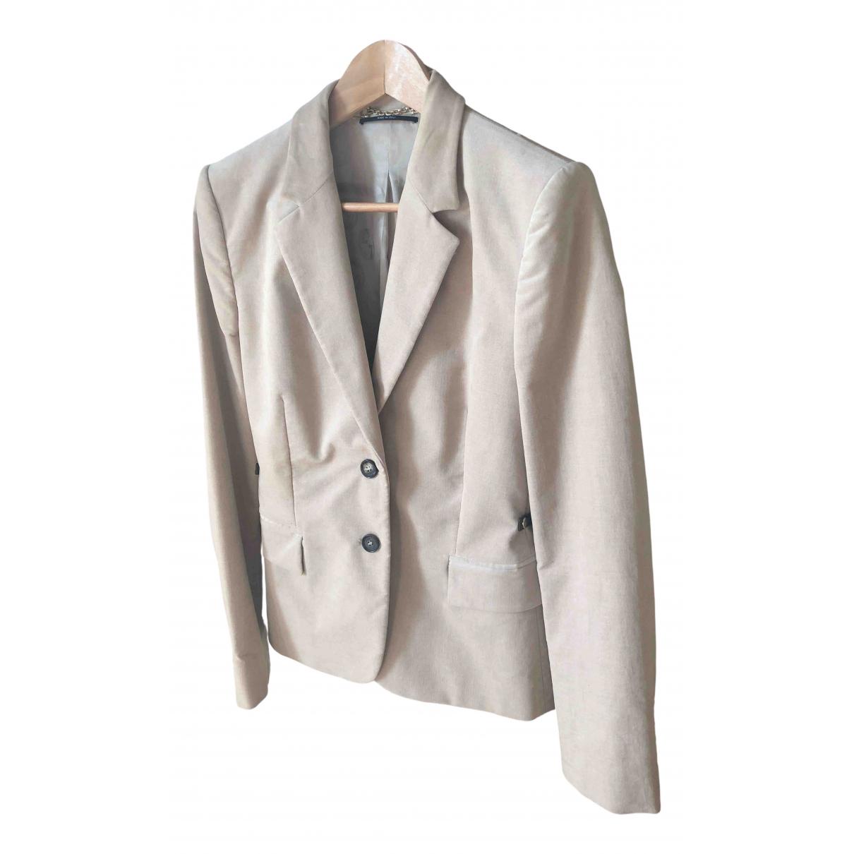 Gucci \N Beige Velvet jacket for Women 46 IT