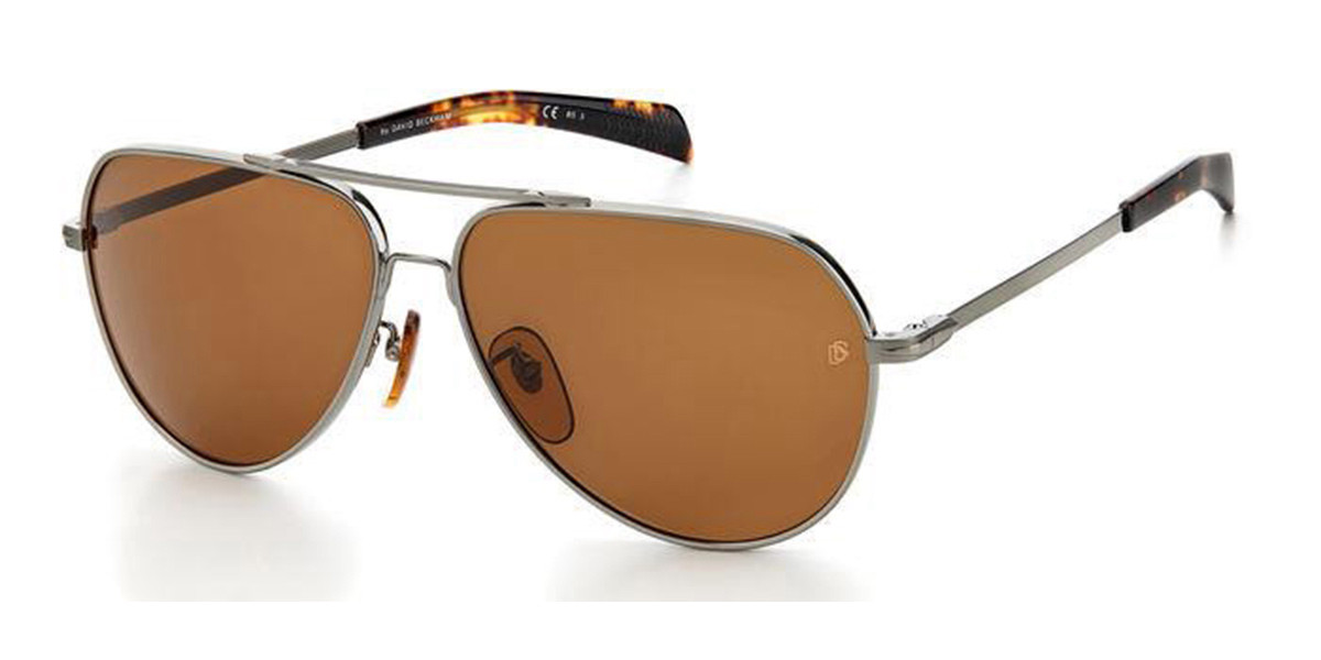 David Beckham DB 7031/S 31Z/70 Mens Sunglasses Grey Size 60