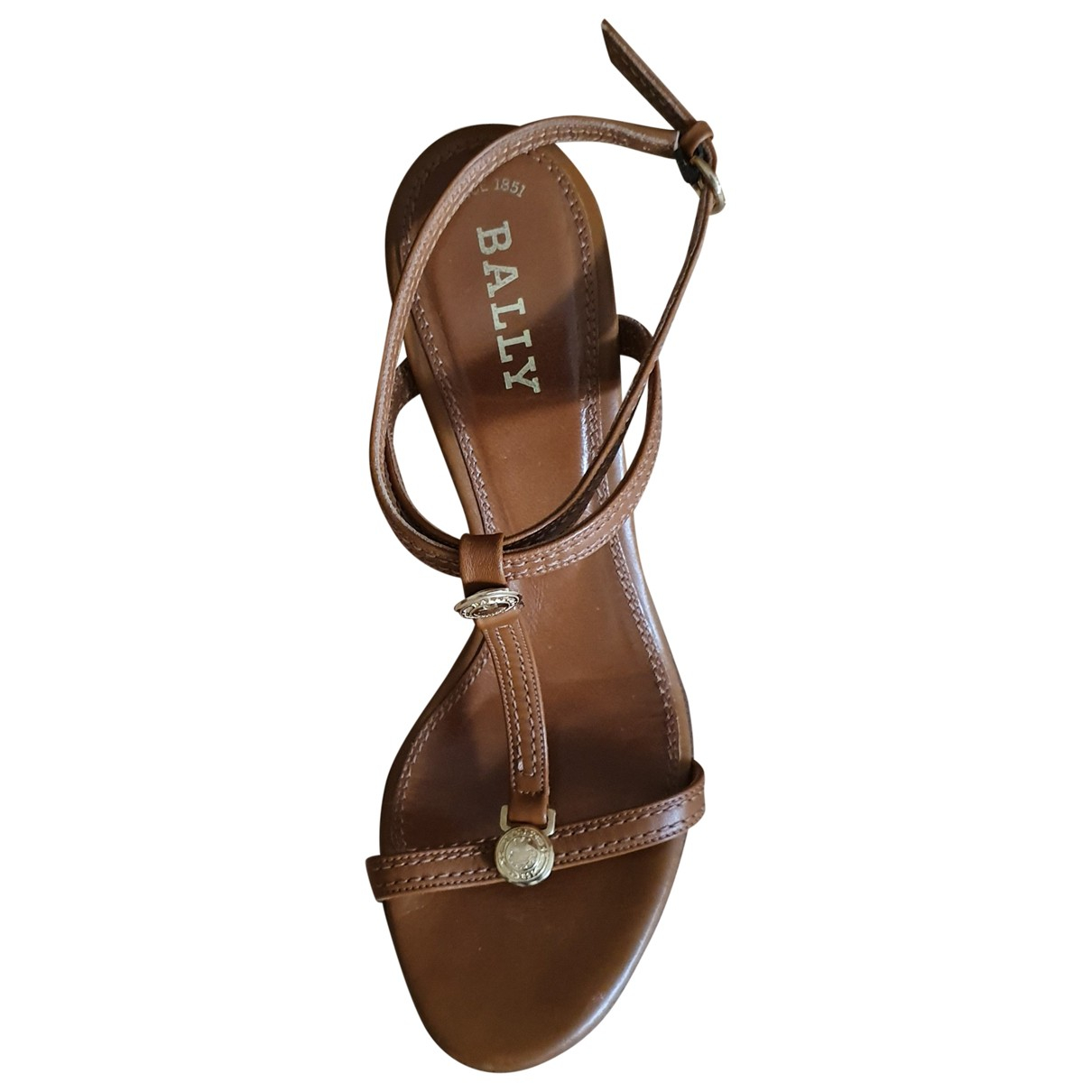Bally \N Brown Leather Sandals for Women 36 EU