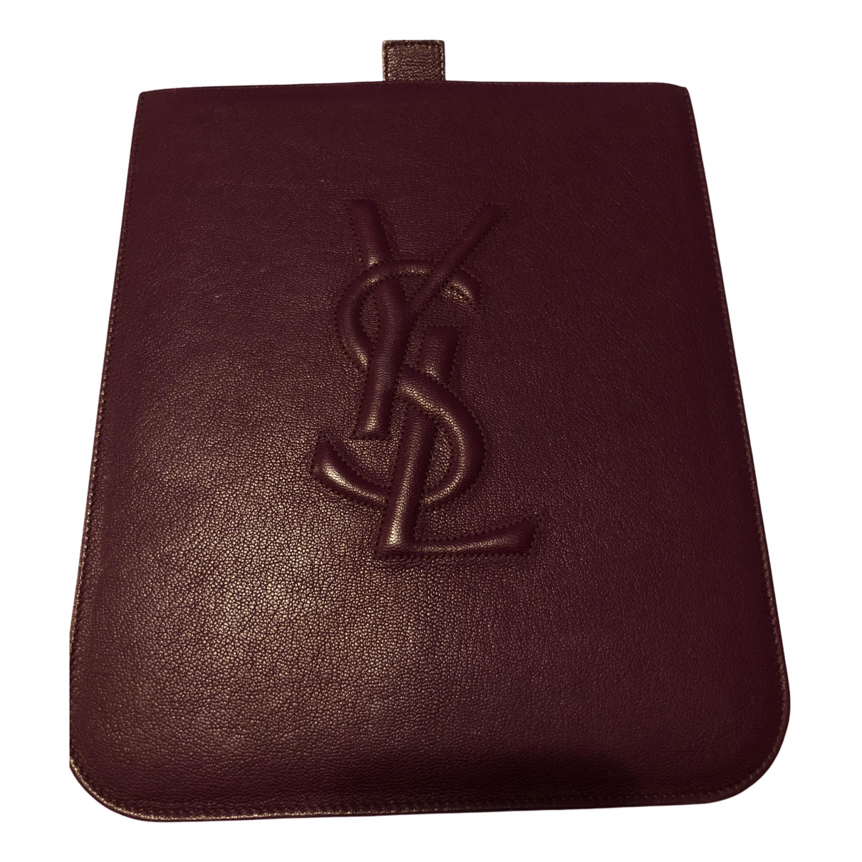 Yves Saint Laurent - Accessoires   pour lifestyle en cuir - violet