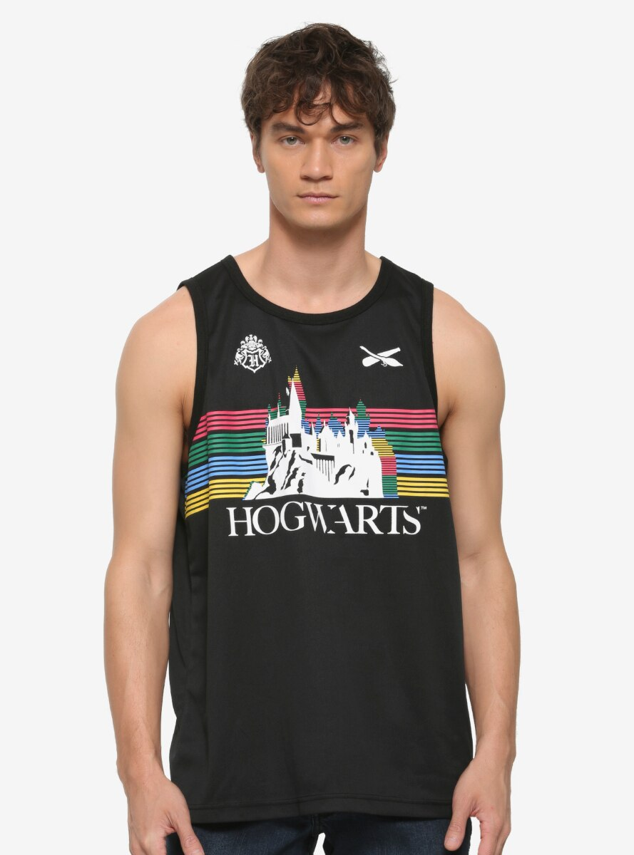 Harry Potter Hogwarts House Striped Tank Top