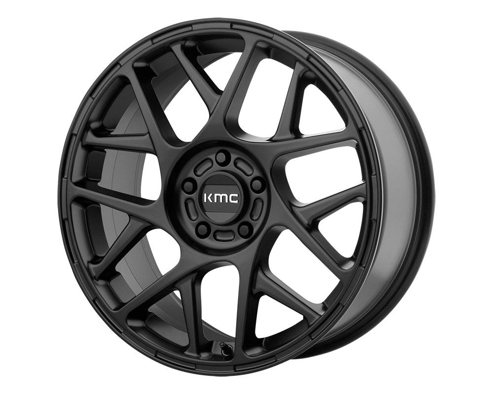 KMC KM708 Bully Wheel 18x8 5x5x112 +38mm Satin Black