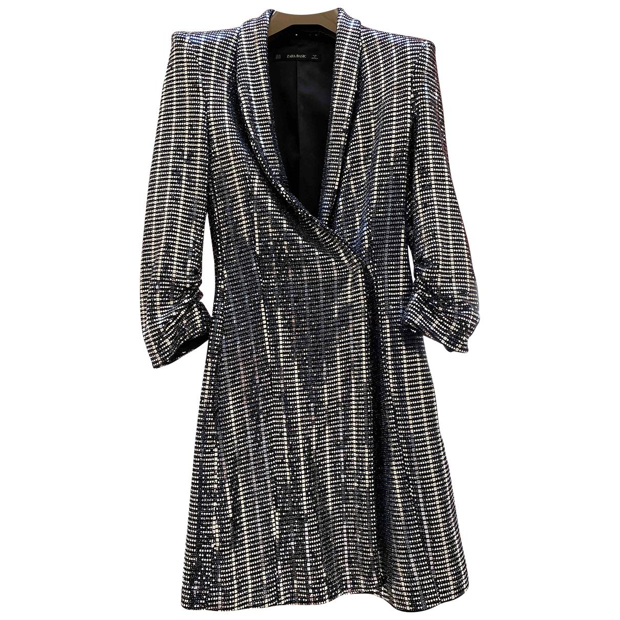 Zara \N Silver Cotton dress for Women XS International