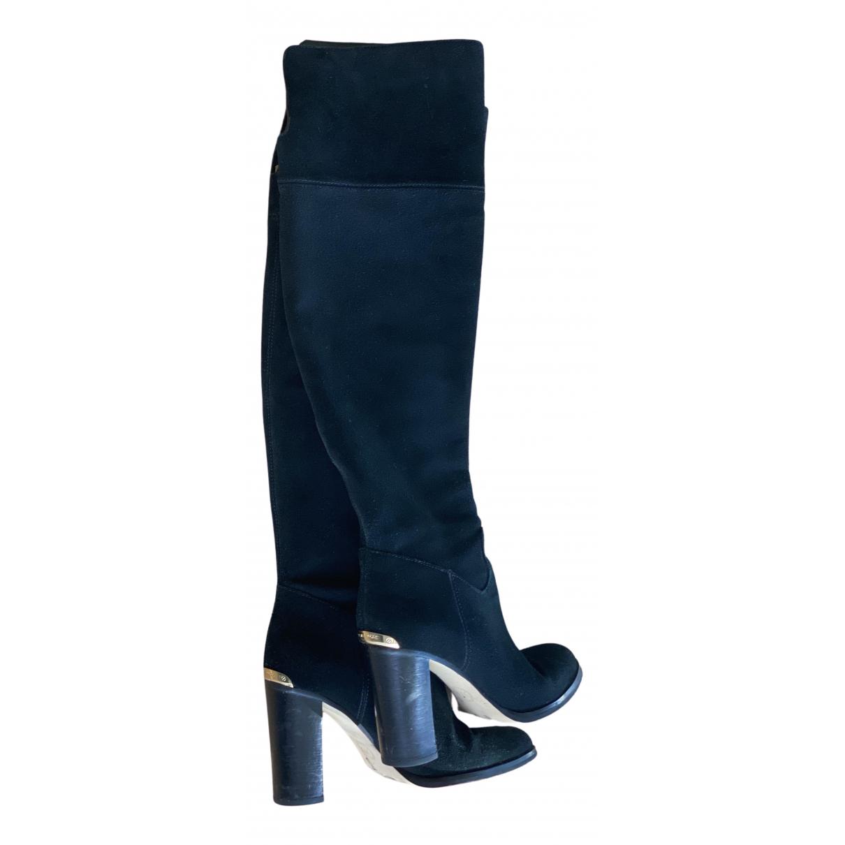 Michael Kors \N Black Suede Boots for Women 37.5 EU