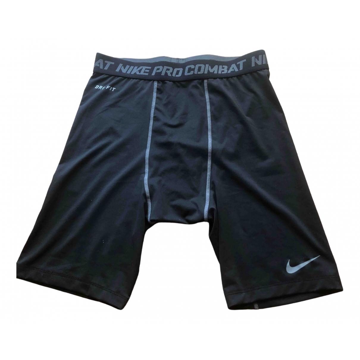 Nike - Short   pour homme - noir