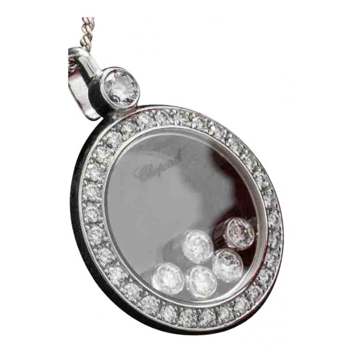 Chopard Happy Diamonds Anhaenger in  Silber Weissgold
