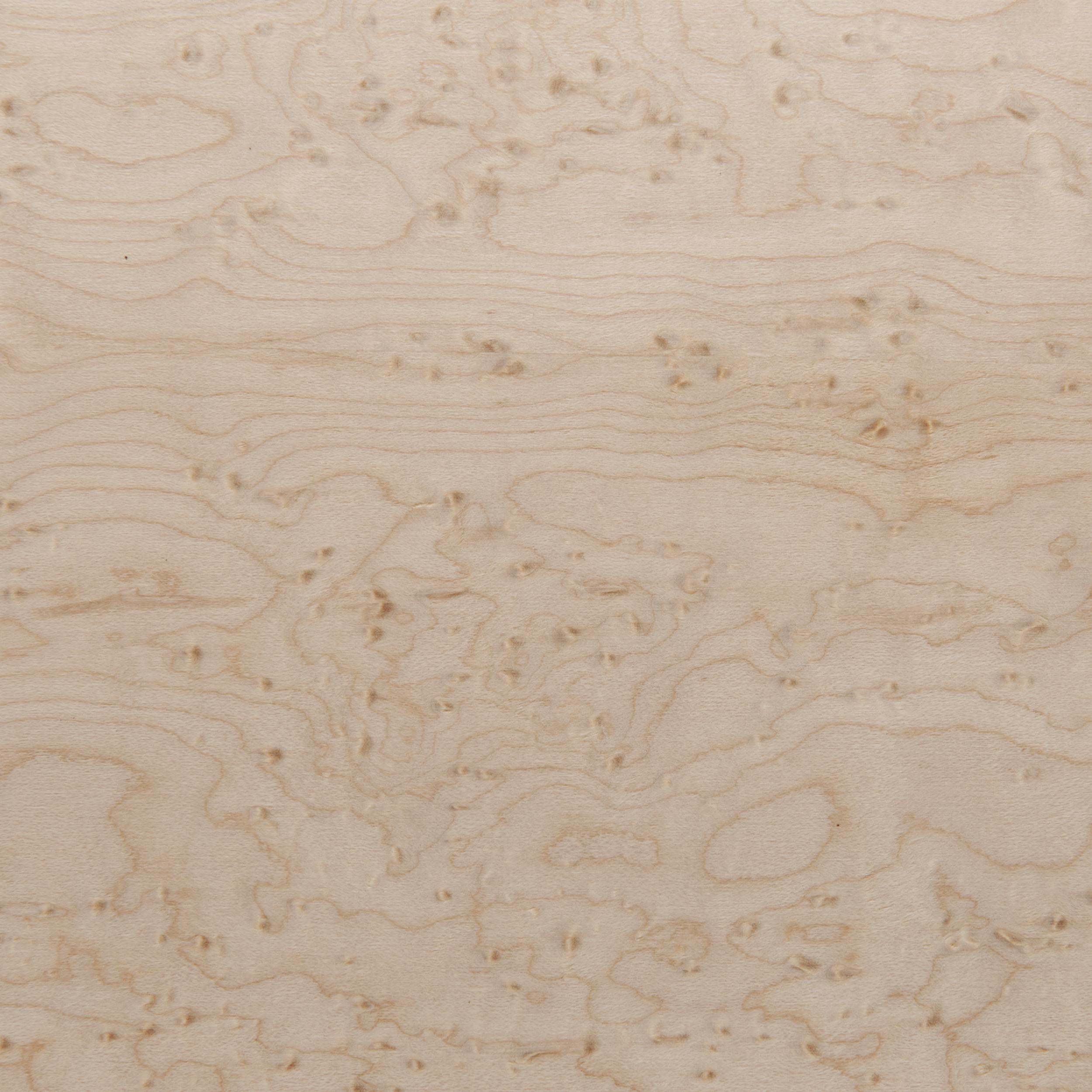 Birdseye Maple, Heavy Eye 4'X8' Veneer Sheet, 3M PSA Backed