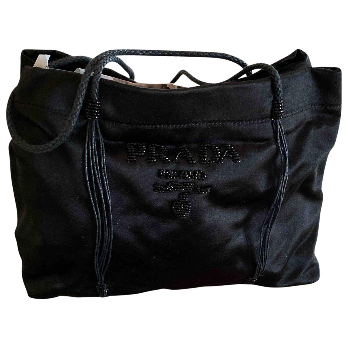 Prada \N Black Silk handbag for Women \N