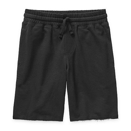 Arizona Little & Big Boys Jogger Short, Small (8) , Black
